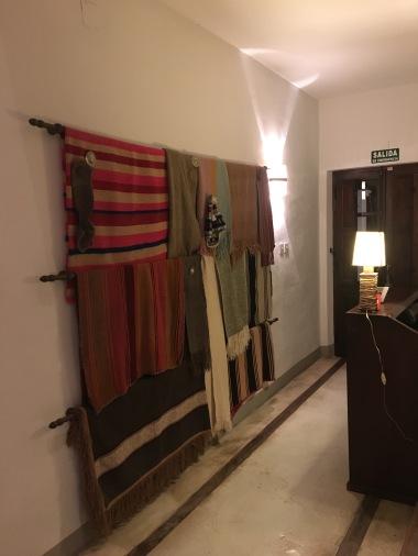 Textiles at Finca Valentina