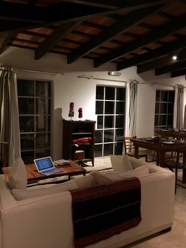 "My ""office"" at Finca"