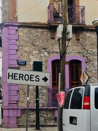 Calle Violeta