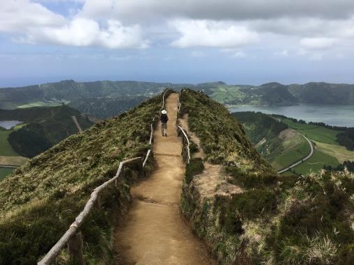 Path at Miradouro da Boca do Inferno